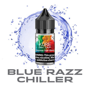 Blue Razz Chiller - Kure On Tap Prime - Kure Vapes