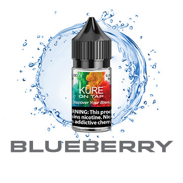 Blueberry - Salt On Tap Prime - Kure Vapes