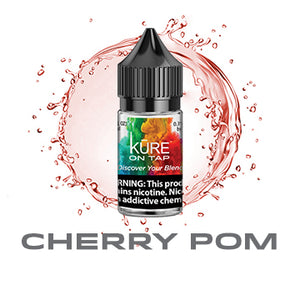 Cherry Pom - Salt On Tap Prime - Kure Vapes