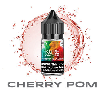 Cherry Pom - Kure On Tap Prime - Kure Vapes
