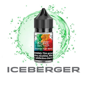 Iceberger - Salt On Tap Prime - Kure Vapes
