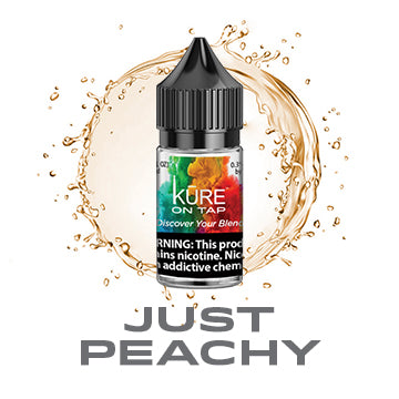 Just Peachy - Salt On Tap Prime - Kure Vapes