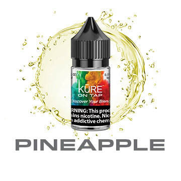 Pineapple - Salt On Tap Prime - Kure Vapes
