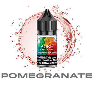 Pomegranate - Salt On Tap Prime - Kure Vapes