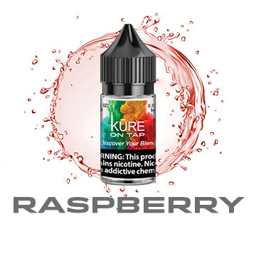 Raspberry - Salt On Tap Prime - Kure Vapes