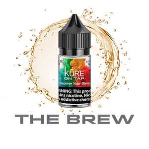 The Brew - Salt On Tap Prime - Kure Vapes
