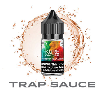 Trap Sauce - Salt On Tap Prime - Kure Vapes