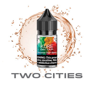 Two Cities - Salt On Tap Prime - Kure Vapes