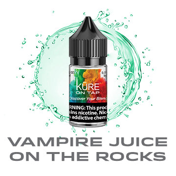 Vampire Juice On The Rocks - Salt On Tap Prime - Kure Vapes