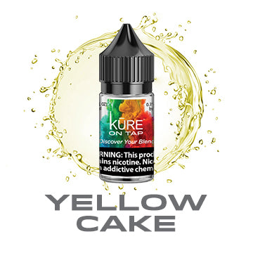 Yellow Cake - Kure On Tap Prime - Kure Vapes