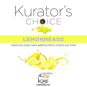 LemonHeadz - Kure-Vapes, E-Liquid - mod-vape-eliquid, Kure Vapes - kure-vape-shop