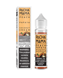 Pachamama Peach Papaya Coconut Cream - 60ML - Kure Vapes