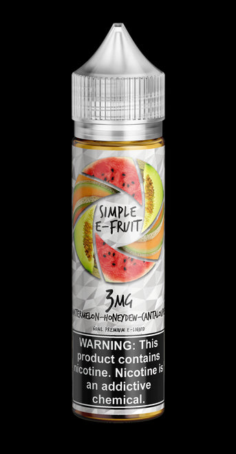 Simple E-fruit, Watermelon Honeydew Cantaloupe - Kure Vapes