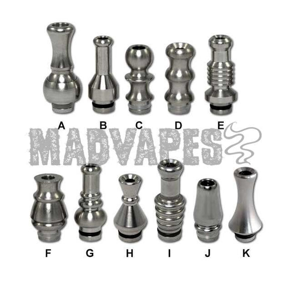 Stainless Steel Drip Tips - Kure Vapes