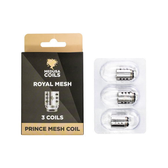 Medusa TFV12 Royal Mesh Replacement Coil, 3 Pack - Kure Vapes