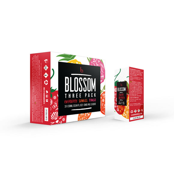 Blossom Sample Box, 3mg - Kure Vapes