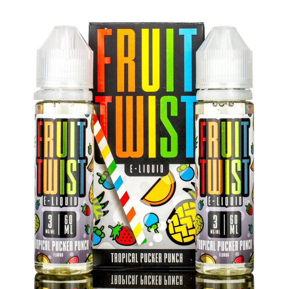 Fruit Twist, Tropical Pucker Punch - Kure Vapes