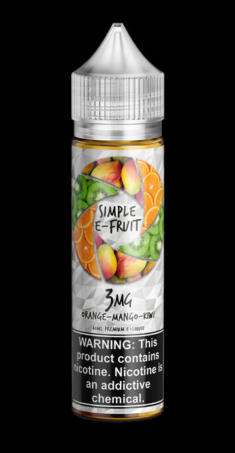 Simple E-Fruit, Orange Mango Kiwi - Kure Vapes