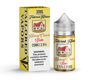 Tailored Vapors Salts Honey Crunch - 30ML - Kure Vapes