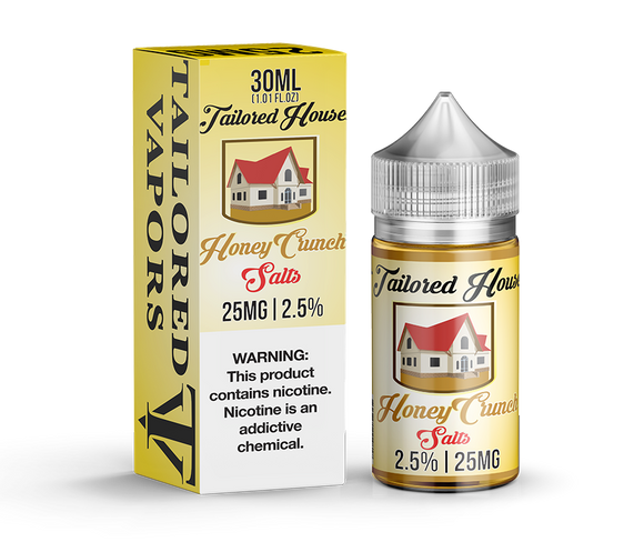 Tailored Vapors Salts Honey Crunch - 30ML
