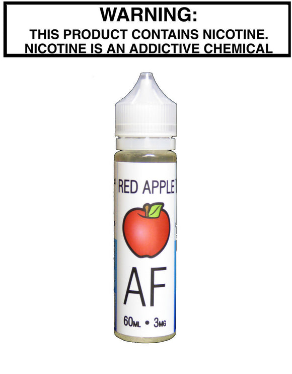 Juicy AF Red Apple - Kure Vapes