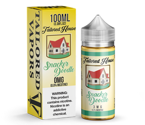 Tailored Vapors Snacker Doodle - 100ML