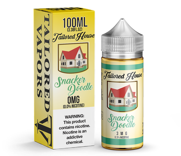 Tailored Vapors Snacker Doodle - 100ML - Kure Vapes