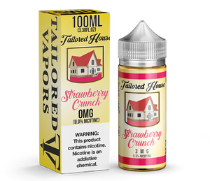 Tailored Vapors Strawberry Crunch - 100ML