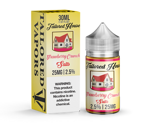 Tailored Vapors Salts Strawberry Crunch - 30ML - Kure Vapes