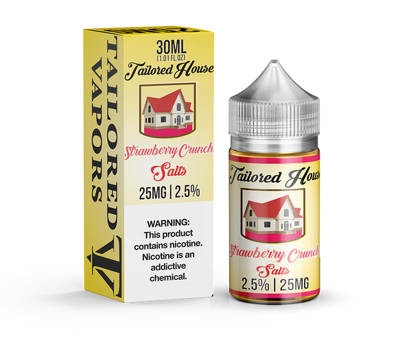 Tailored Vapors Salts Strawberry Crunch - 30ML