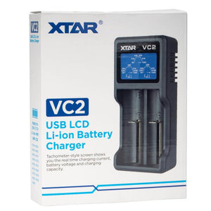 XTAR VC2 Battery Charger - Kure Vapes