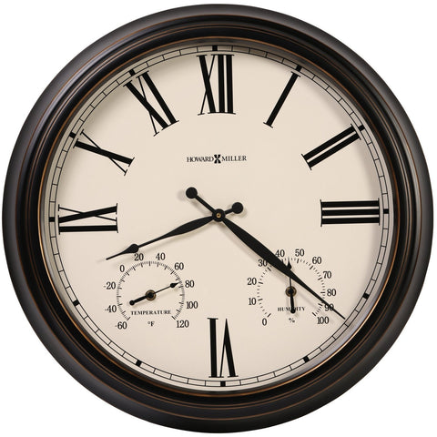 Aspen Outdoor Wall Clock 625677