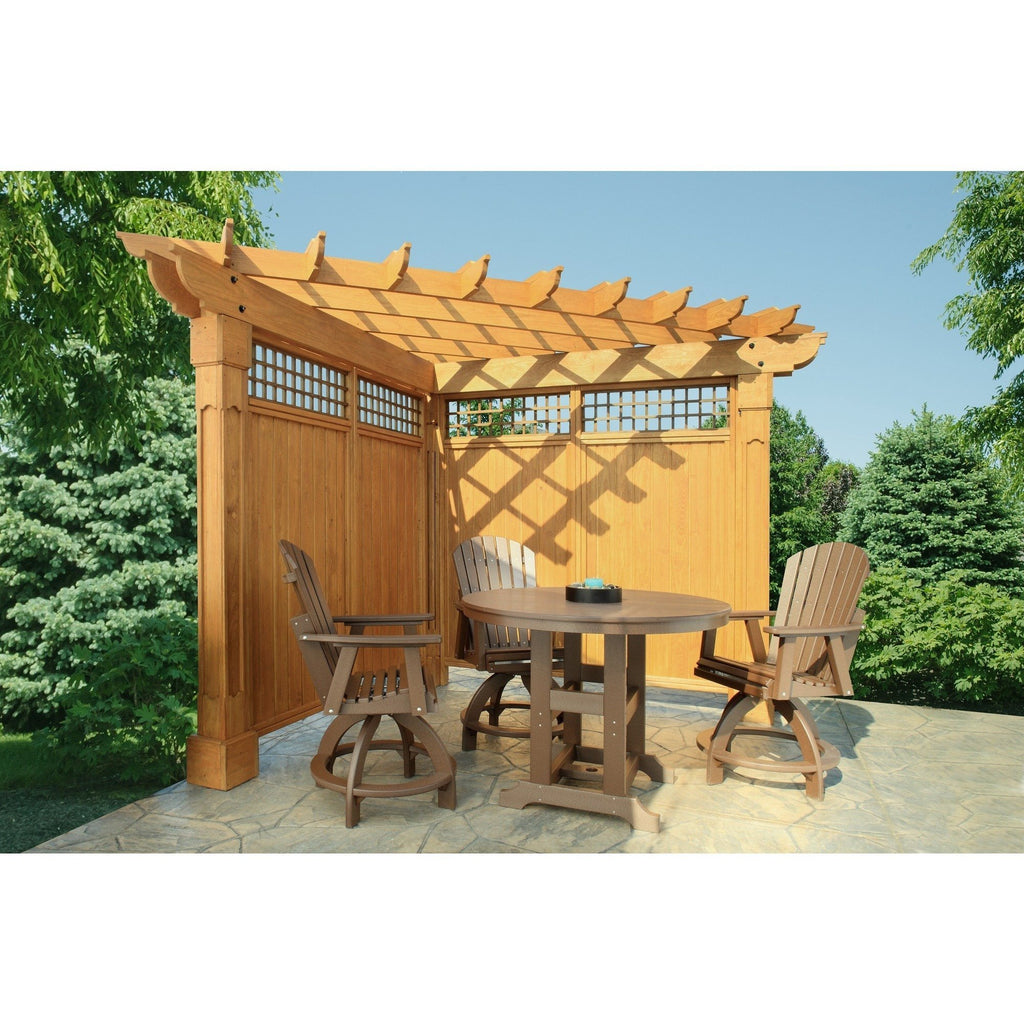 Berlin Gardens Alcove Wood Pergola Collection 10