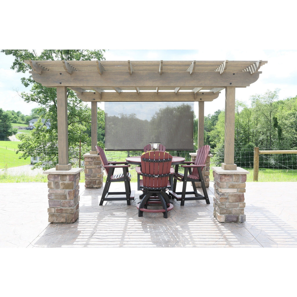 Berlin Gardens Outback Wood Pergola Collection 12 X 12