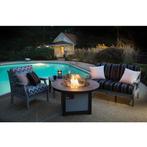 Berlin Gardens Prime Outdoor Fire Pit Set - 3 Pc DFPP2544CTL5734CTCC3034