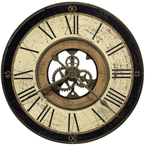 Brass Works Wall Clock 625542