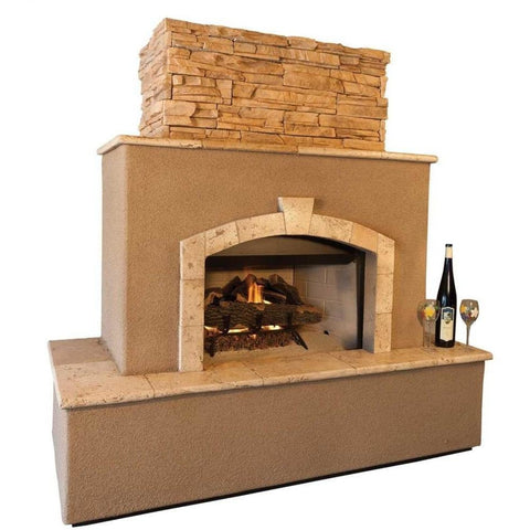 Kokomo Grills Tuscan Outdoor Fireplace KOKOG:STANDARDTUSCANFIREPLACE
