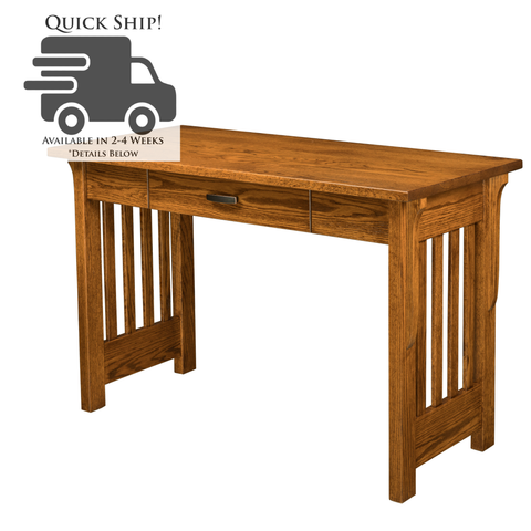 QUICK SHIP QW Amish Boston Writing Desk LRWN-BO4822OWD