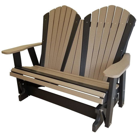 Wondrous Qw Amish Adirondack Glider Quality Woods Furniture Pabps2019 Chair Design Images Pabps2019Com