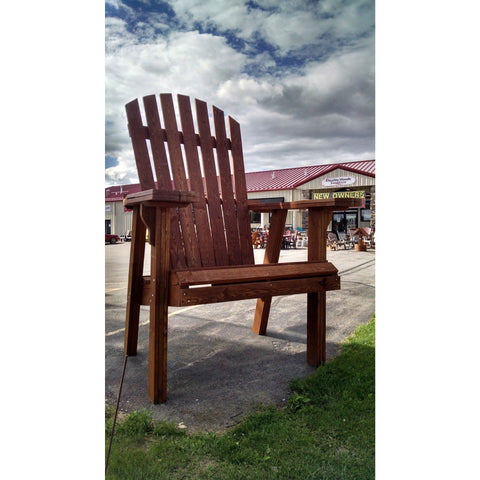 QW Amish Big Adirondack Chair JSBIGCHAIR