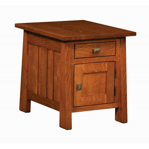 QW Amish Freemont Enclosed End Table