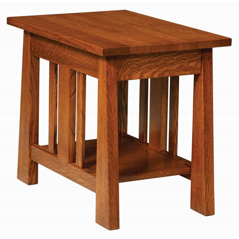 QW Amish Freemont Open Chair Side End Table