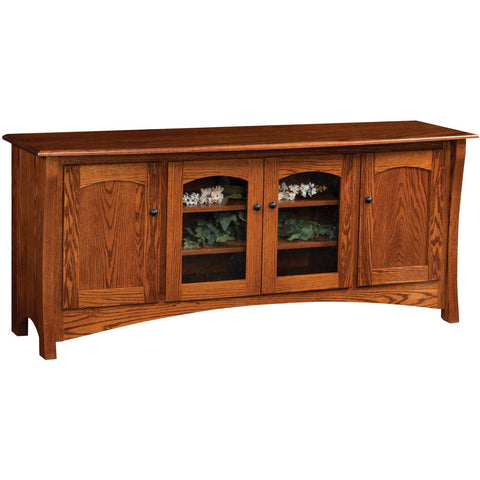"QW Amish Master Collection 70"" TV Stand"