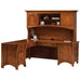 QW Amish Master Corner Desk with Optional Hutch