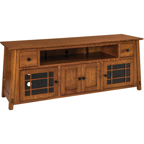 "QW Amish McCoy 72"" with Opening TV Stand COPV-MCSB2172TV"