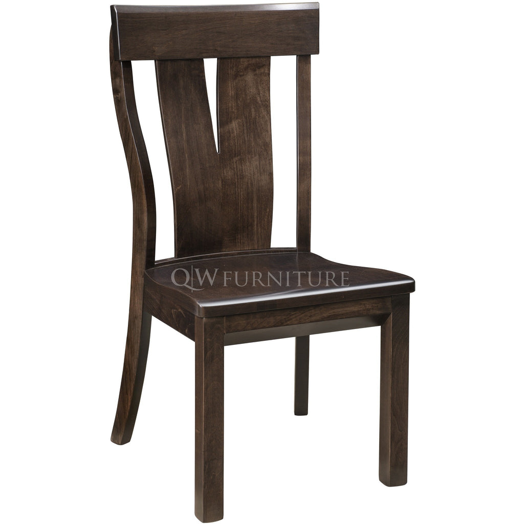 Qw Amish Mckay Side Chair Quality Woods Furniture