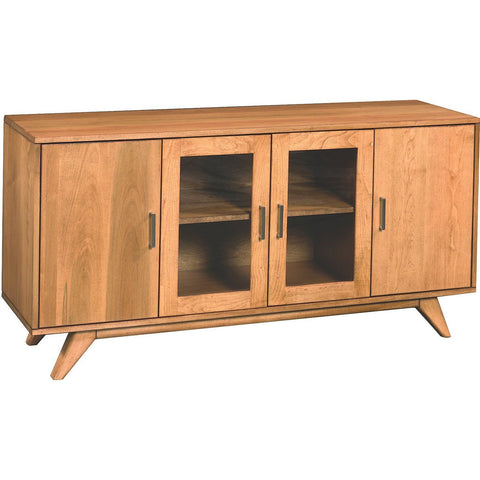 "QW Amish Mid Century 60"" Media Console"