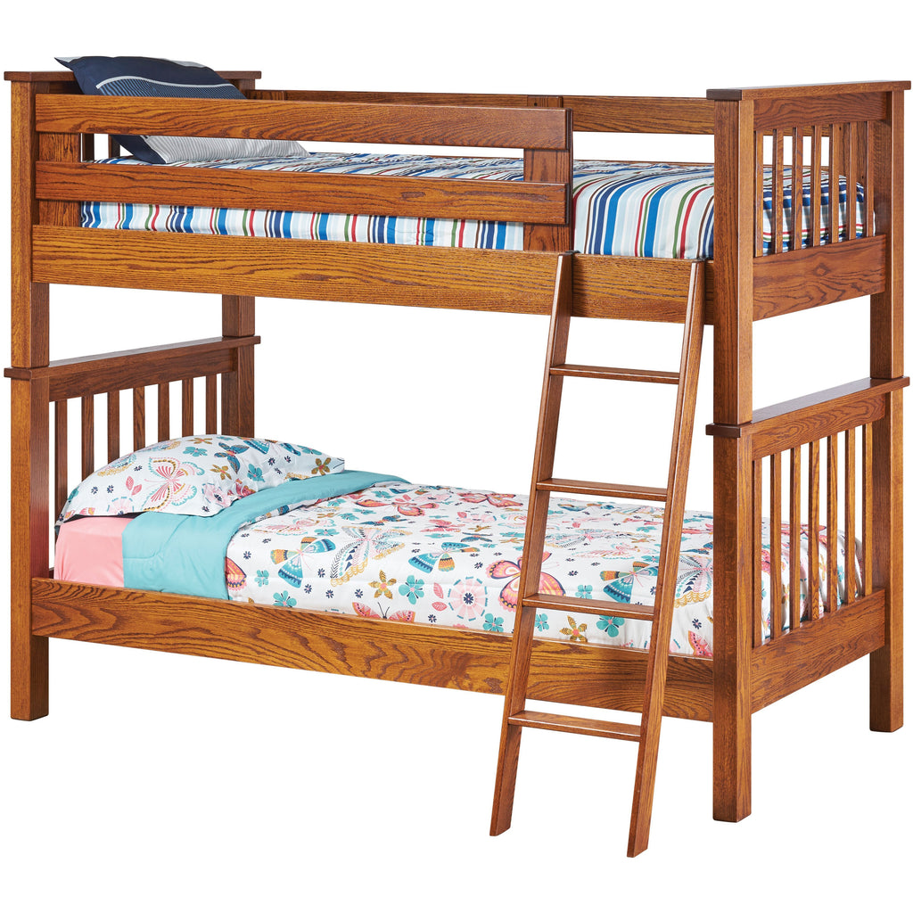QW Amish Miller's Mission Twin/Twin Bunk