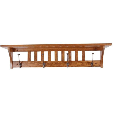 QW Amish Mission Coat-N-Cap Shelf HPSH-4CNCM