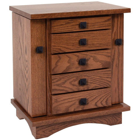 QW Amish Mission Jewelry Box WMIS-330JEWELRYCABINET